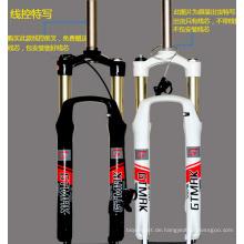 Mountain Bike Suspension Fork Bike Lock Aluminium Gabel Mountain Bike Air Fork 2 Farben