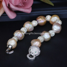 New Design Baroque Freshwater Cultured Pearl Bracelet