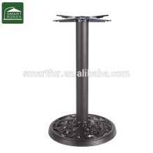 Modern table base for outdoor use