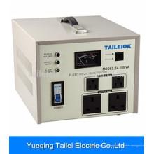 SVC-1000VA AC casa estabilizador de tensão automático regulador 220V