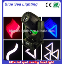 180w gobo moving head led beam/light patterns stage lighting