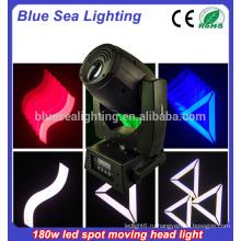 180w гобо перемещение головы светодиодный луч / свет моделей сцены освещения