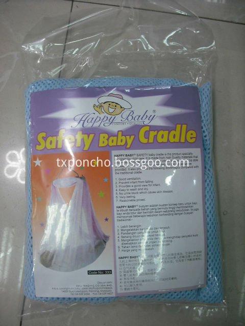 Opp bag for cradle