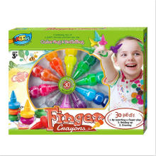 Satisfying service 30 Colours Kids Art for kids gel twist crayon