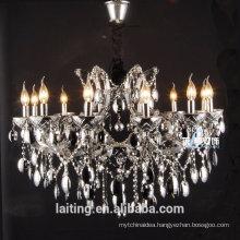 crystal iron chandelier, antique chandelier