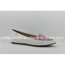 Latest Fashion Comfortable Flat Lady Shoes