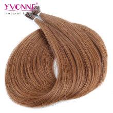 Cheveux droits humains I Tip Extensions de cheveux