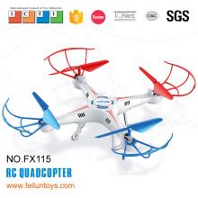 2. 4 G 4CH 6 axes blanc rc micro drone avec 0.3MP caméra et conduit