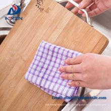 Alta qualidade 40x60cm waffle toalha de mesa de algodão jacquard