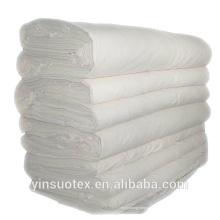 """21S / 60x60 / 96 """"Breite preiswerter einfacher weißer Baumwollgewebe für Verkauf"""