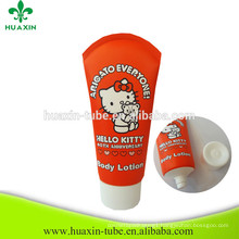 High Quality Body Lotion Packaging Tube For Cosmetic