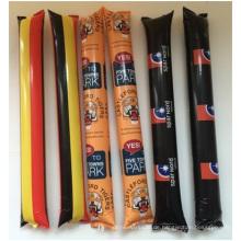 Kundenspezifische Tanken Fußball Cheer Stöcke, PE Material Abnormität La-La-La Bar