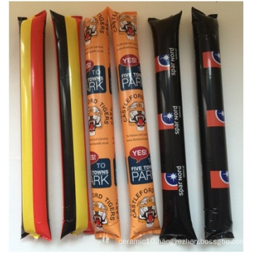 Customized Refueling Football Cheer Sticks, PE Material Abnormity La-La-La Bar