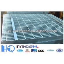 Rejilla de acero galvanizada sumergida caliente del paso de 5 * 5cm / paso que rejilla para la venta