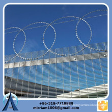 Best quality mesh 76.2mm*12.7mm hot dip galvanized high security 358 fence, 358 high security fence, prison 358 fence