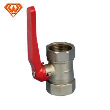 válvula de esfera de bronze para medidor de água