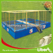 Hot Sale Popolar Cheap Square Trampoline for amusement park LE.BC.004