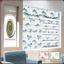 Fashion beautiful korean roman window blind pour salon