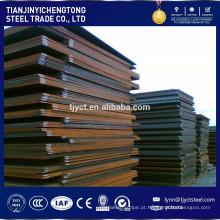 Hardox400 NM400 1.3401 Placa de aço resistente ao desgaste