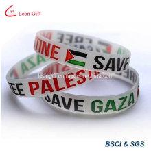 UAE Flat Fashion Rubber Bracelet / Cuff Bracelet