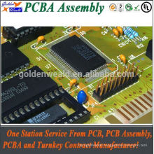 gps pcb with module and bga pcb screw terminal blocks assembled dip pcb assembly