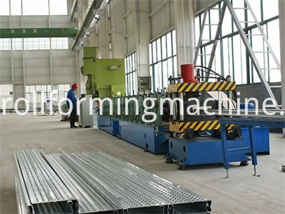 Galvanized Steel Scaffolding Walk Board Roll Forming Machine