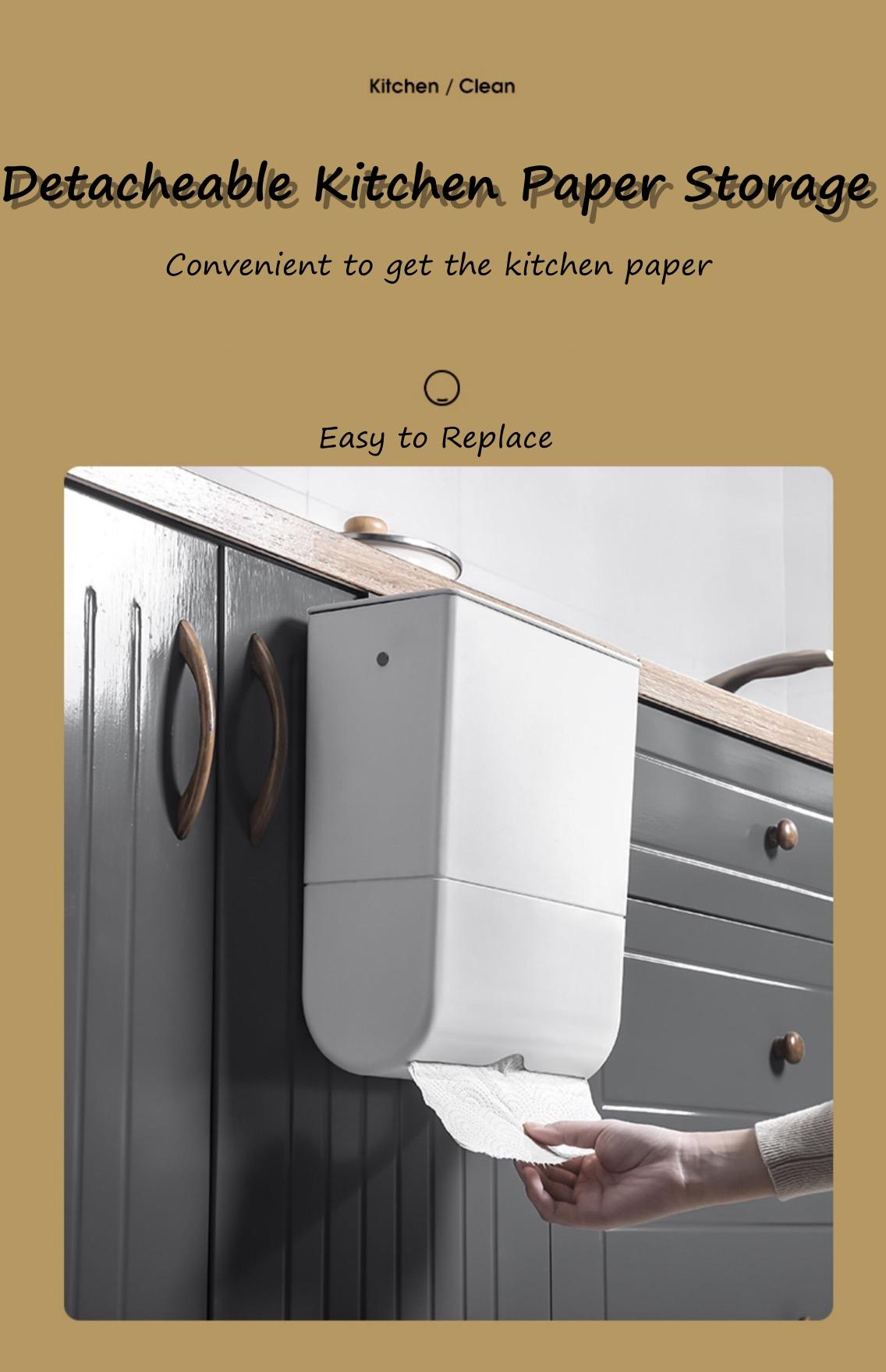 Trash Bin with kicthen paper storage