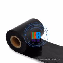 Lavar la ropa Rollos de etiquetas 40 mm x 300 m Cinta de transferencia térmica Código de barras Lavado Cuidado de la cinta