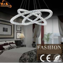 KTV Corridor Crystal Pendant Lamp Coffee Shop Silver Pendant Lamp