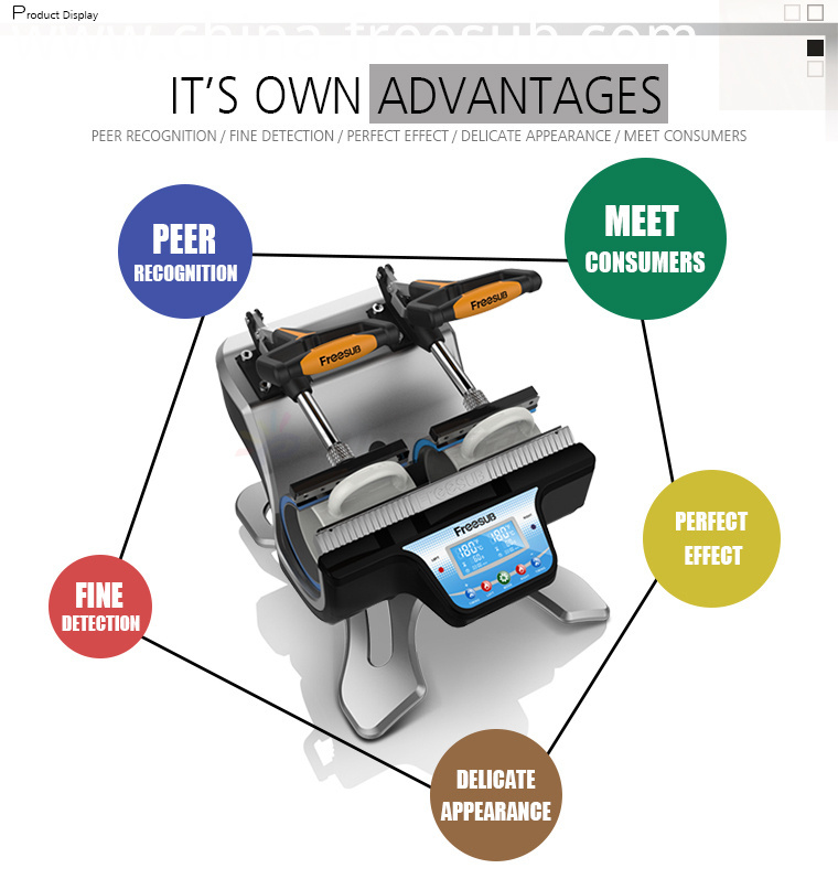 Sublimation Customized Mug Heat Press Printing Machine