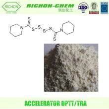 Alibaba China Supplier Made in China Karachi Chemicals CAS NO.120-54-7 C12H20N2S6 Accelerator DPTT Accelerator TRA