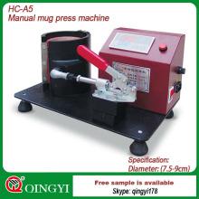 tasse sublimation chaleur presse machine de transfert