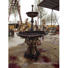 Garden Antique Bronze Water Fountain For Sale