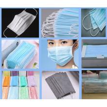 Máquina de mascarilla quirúrgica de 3 capas
