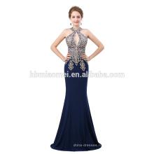 Высокое качество alibaba вечернее платье Королевский синий сексуальная длинные вечернее платье платье
