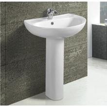 Moderno com bacia de suporte de cerâmica banheiro quente venda