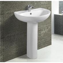 Heißer Verkauf moderne Badezimmer Keramik Sockel Becken