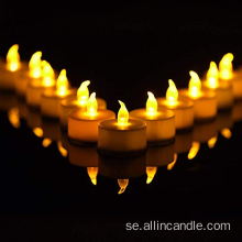 Yellow Light Flicker Candle Batteriljus