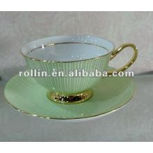 Gute Qualität chinesische Porzellan Teetasse und Untertasse