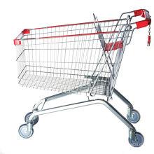 Супермаркет Вагонетка Покупкы Бакалеи