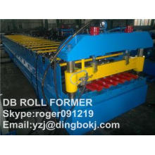 C & Z Purlin Machine YX840 Roof Panel Roll Forming Machine