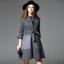 Qualitäts-Frauen-Kleid-Großhandelsart- und weisefrauen-Winter-Mantel