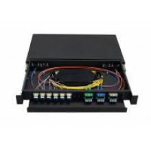 1u, 19 Inch Fibra Óptica Terminal Box