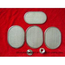 Chapa de metal perfurada galvanizada / de aço inoxidável / de alumínio