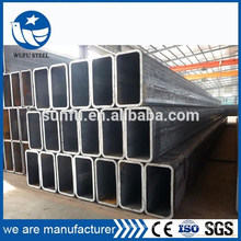 BS EN ASTM hollow section rectangular 125*100 steel pipe
