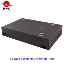24/48 Cores Distribution Wall Mount Fiber Optic Patch Panel