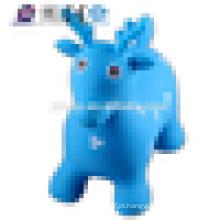 JSYT001 kids ride em PVC-plástico animal brinquedo / salto de plástico animal veado pulando animal brinquedo inflável salto animal brinquedo