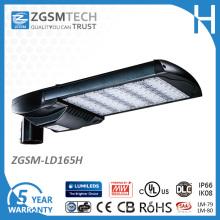 Éclairage de stationnement de 528VAC 165W LED avec le capteur de mouvement