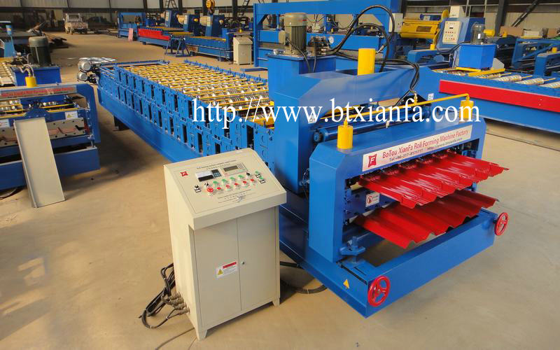 Tile Roof Making Machine (3)