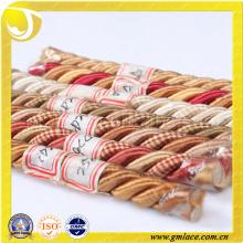 Stoff Dekoratives Seil für Kissen Dekor Sofa Dekor Wohnzimmer Bett Zimmer